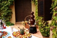 fontanella di cioccolato